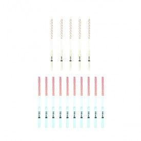 5 progesterone tests (PdG) and 10 ovulation HomeTest test strips