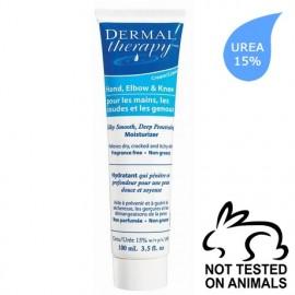 Dermal Therapy Κρέμα για Χέρια, Αγκώνες, Γόνατα 100ml (15% ουρία)
