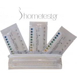 5 τεστ κολπικού pH HomeTest