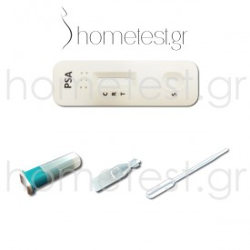 HomeTest prostate (PSA) test - Pack components