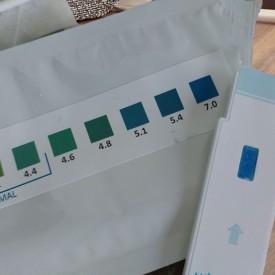 HomeTest vaginal pH tests - 7.0 pH value