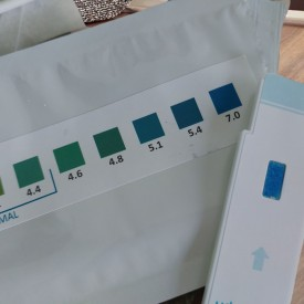 HomeTest vaginal pH tests - 7.0 pH value