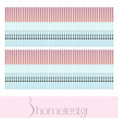 100 HomeTest ovulation test strips