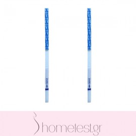 2 HomeTest pregnancy test strips