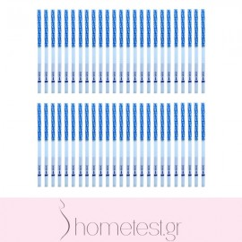 50 HomeTest pregnancy test strips