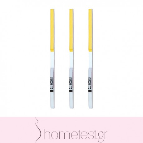 3 HomeTest FSH test strips