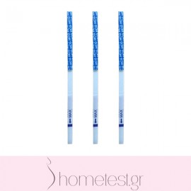 3 HomeTest pregnancy test strips