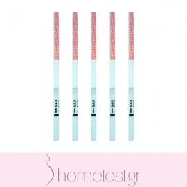 5 HomeTest ovulation test strips