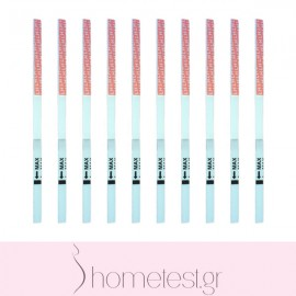 10 HomeTest ovulation test strips
