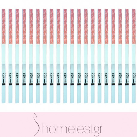 20 HomeTest ovulation test strips