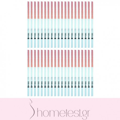 40 HomeTest ovulation test strips