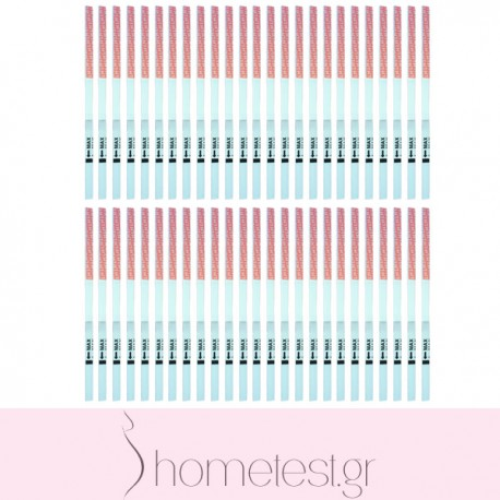 50 HomeTest ovulation test strips