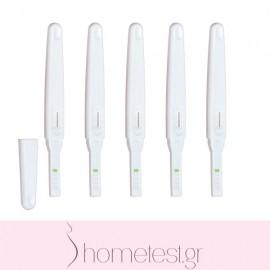 5 HomeTest ovulation midstream tests