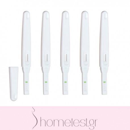 5 HomeTest ovulation midstream tests