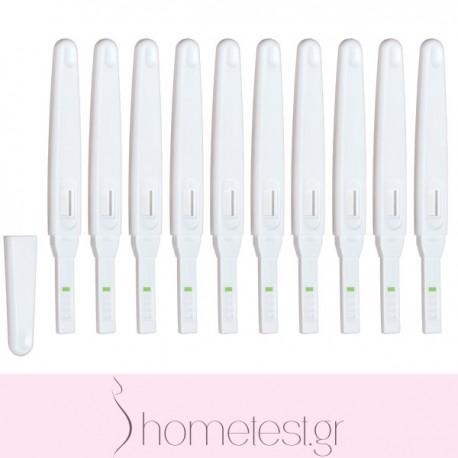 10 τεστ ωορρηξίας HomeTest midstream