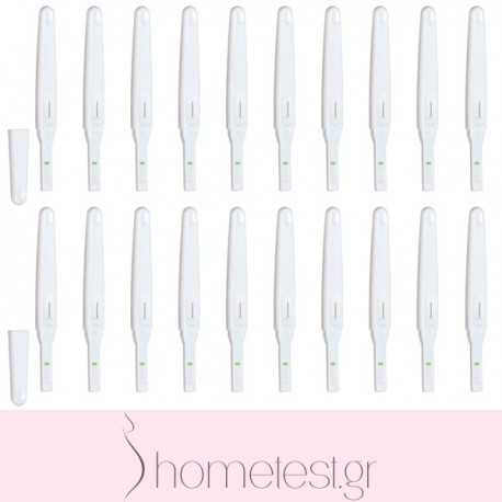 20 HomeTest ovulation midstream tests