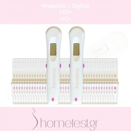 40 digital HomeTest ovulation tests (double detection)