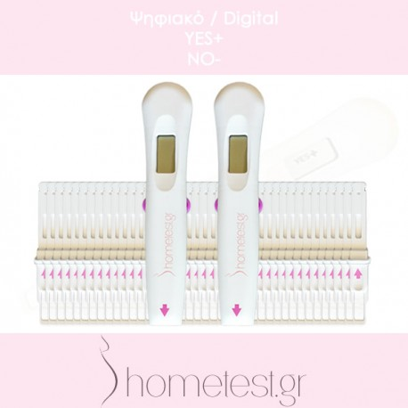 40 digital HomeTest ovulation tests