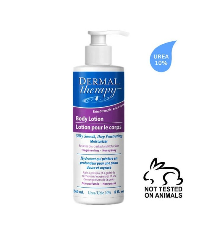 Dermal Therapy Κρέμα Σώματος 240ml (10% ουρία)