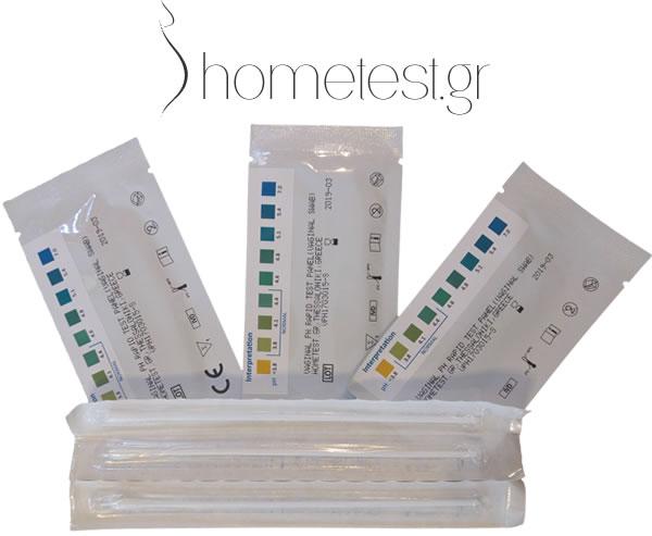 Τεστ κολπικού pH HomeTest
